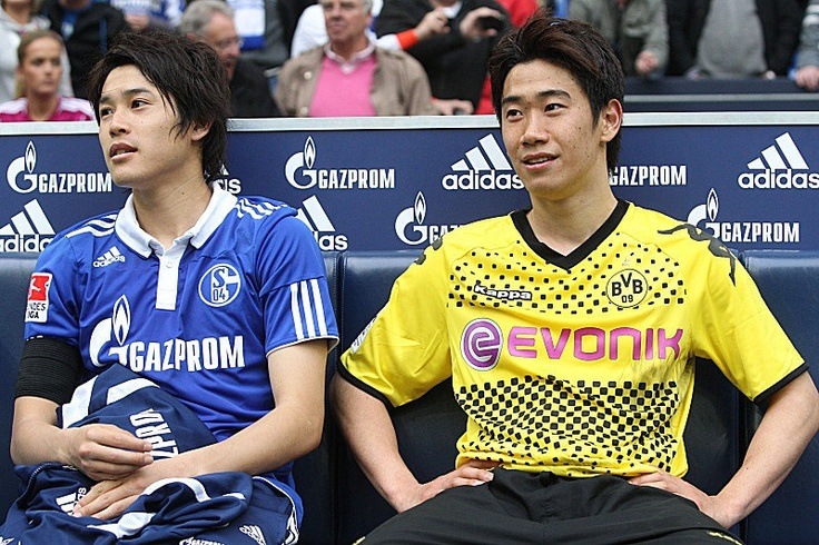 Shinji Kagawa and Atsuto Uchida, my 2 favorite Japanese football players!!