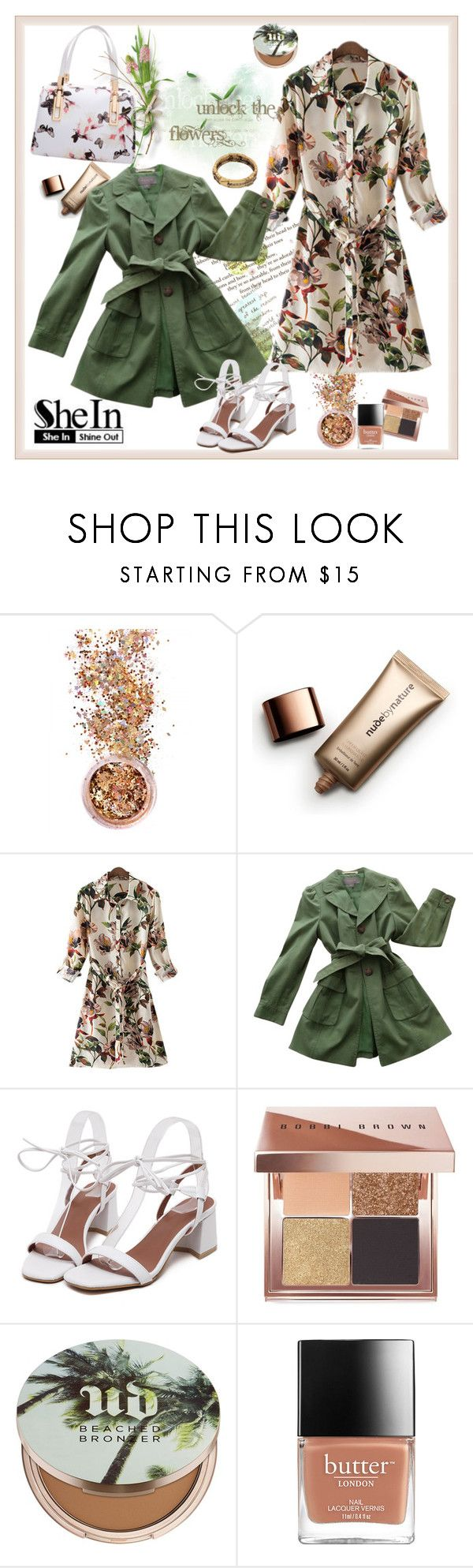"""Win SheIn #30 Coupon......"" by carola-corana ❤ liked on Polyvore featuring In Your Dreams, Nude by Nature, Ann Taylor, Bobbi Brown Cosmetics, Urban Decay and shein"