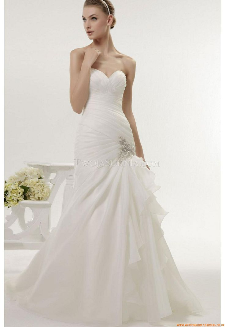 124 best Wedding Dresses Aire Barcelona images on Pinterest ...