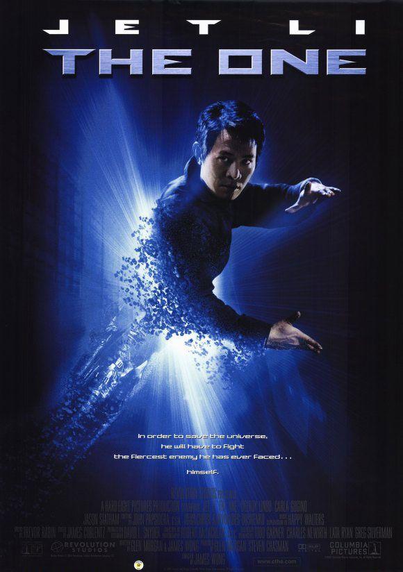 The One , starring Jet Li, Carla Gugino, Delroy Lindo ...