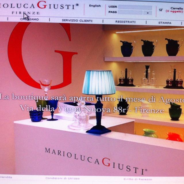 Mario Luca Giusti boutique in Florence