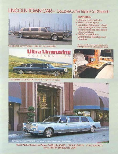1985 Lincoln на заказ лимузина Майя Анжелу в - Автор / Активист за гражданские права