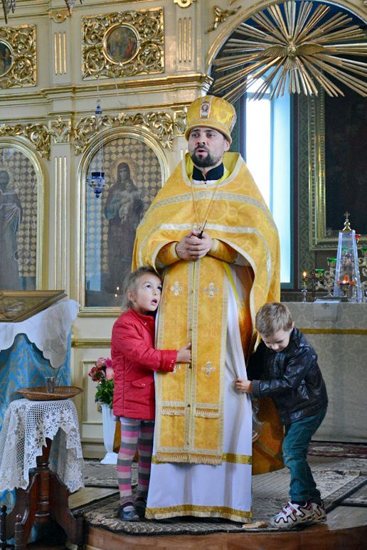 Fr Nikolai and his children