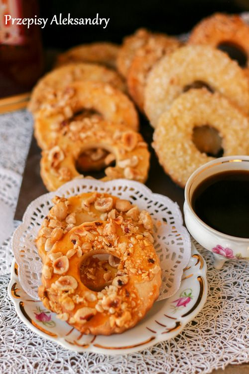 Kruche ciasteczka z orzechami / cookies with nuts