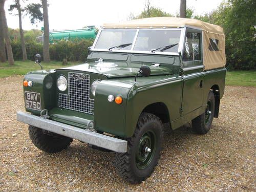 Restored Classic 1965 Series 11a Land Rover For Sale