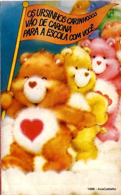 Ursinhos Carinhosos anos 80