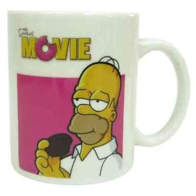 Simpsons mug  coffee cup ホーマー/バート/グッズ/通販  日本でも人気の高いアメリカ発のコメディアニメ《ザ・シンプソンズ》グッズが登場☆ こちらは定番アイテム【マグカップ】 温かい飲み物を入れるとホーマーの持っているものがドーナッツの色に変っちゃいます!! 専用ボックス入りでプレゼントにもGOOD◎  ■サイズ:直径約80×100mm ■素材:陶器