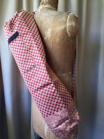 Silk Sari Yoga Bag : Pinot Shop Now NZ$25.00 Summer House NZ