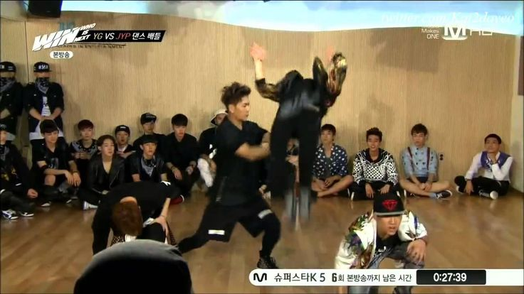 Jackson ღ Mark (Backflip Push) ✧ [JYP Trainee's Dance Cut] #GOT7