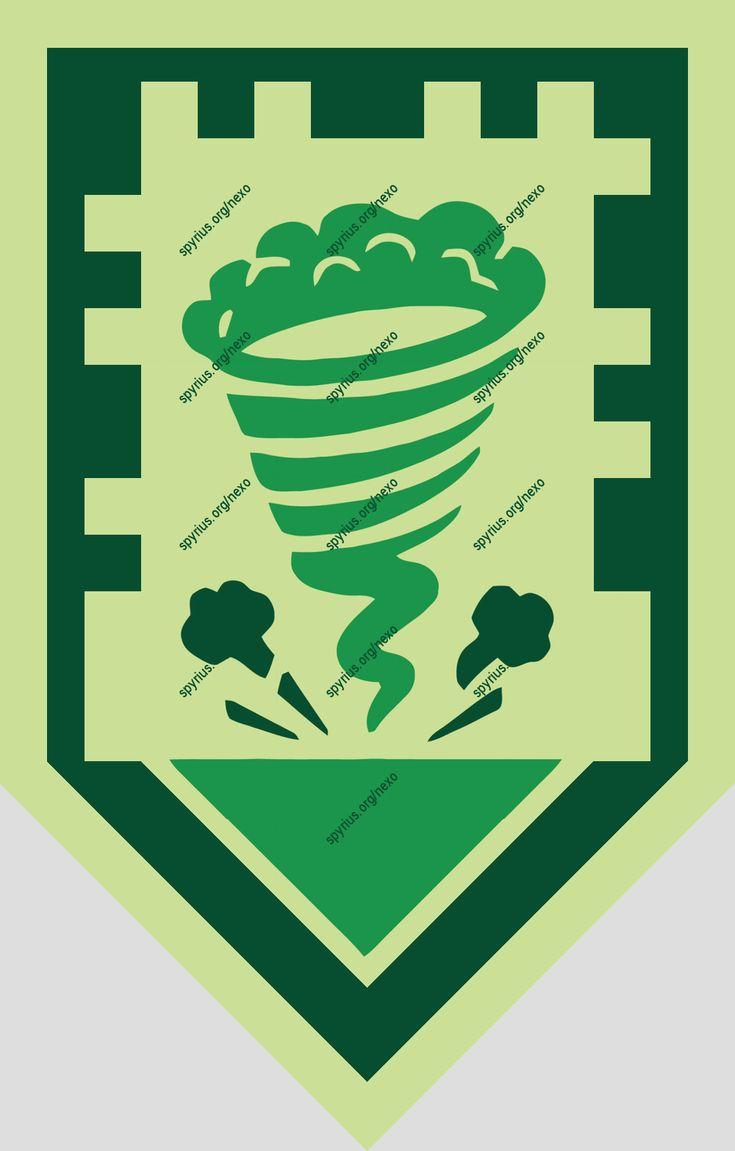 LEGO NEXO Knights Power - Aaron - Broccoli Tornado |spyrius.org