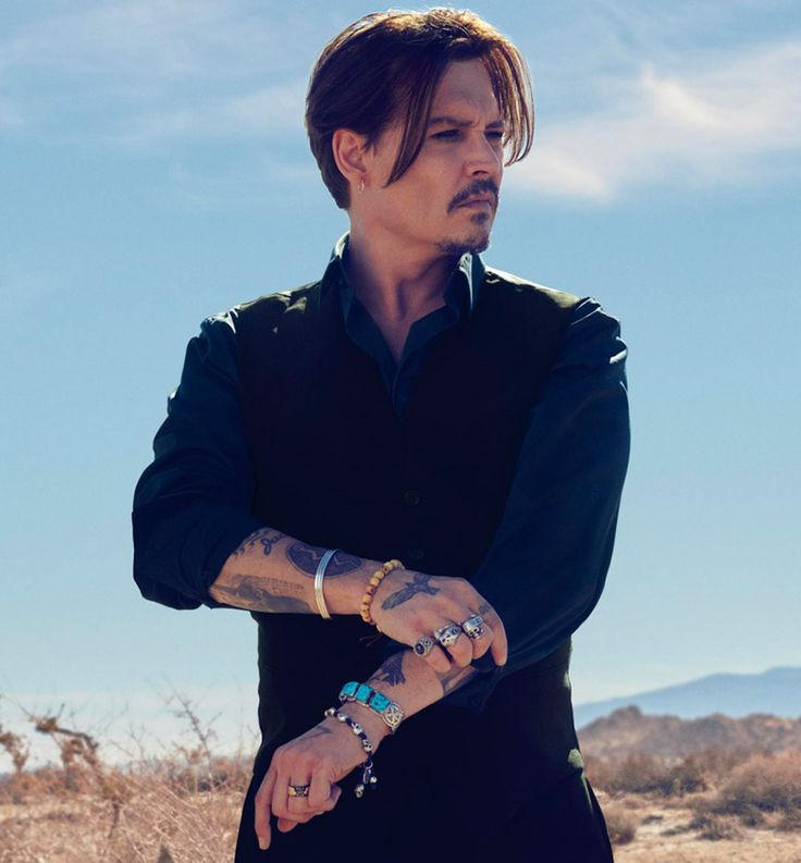 Johnny Depp Dior 2015