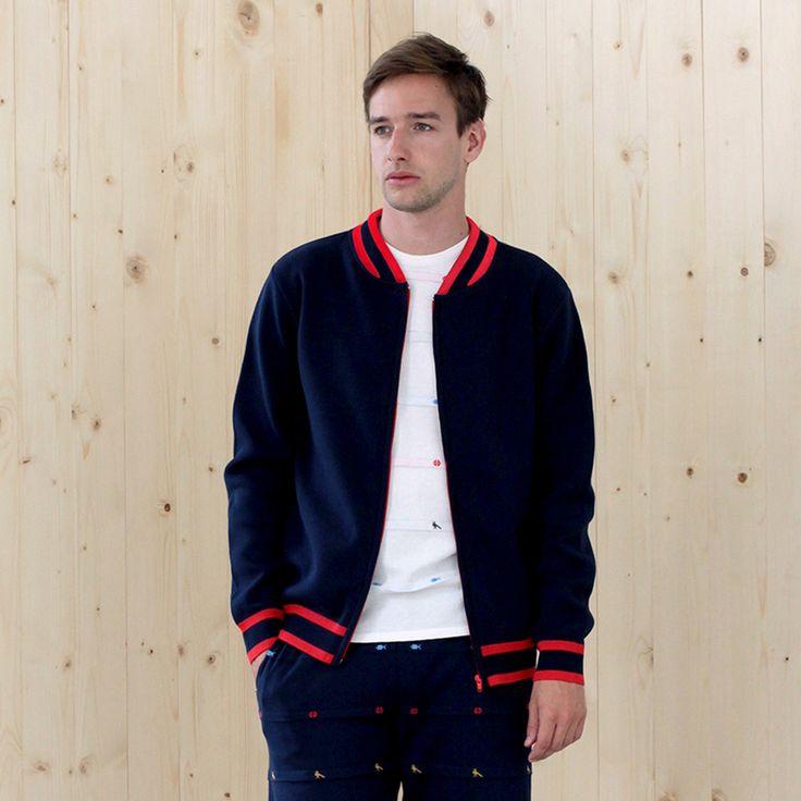 jacket BACCARA navy