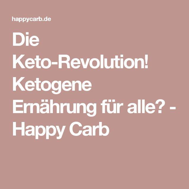 Die Keto-Revolution! Ketogene Ernährung für alle? - Happy Carb