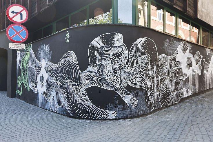 Mural, Bielsko Art Galery (BWA), photo: Krzysztof Morcinek)