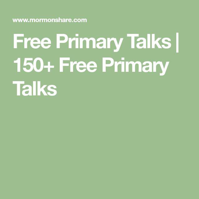 Free Primary Talks | 150+ Free Primary Talks