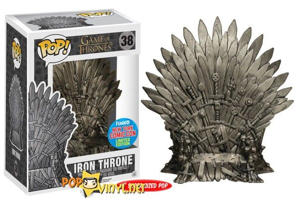 Game of Thrones- Iron Throne- New York Comic Con Exclusive Limited Edition