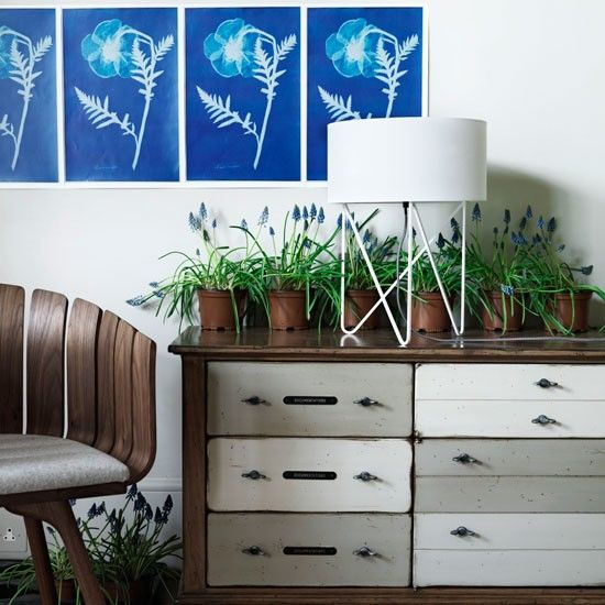 Eco-inspirado pasillo de almacenamiento