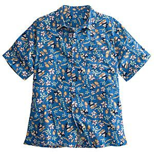 Disney Minnie and Mickey Mouse Hawaiian Shirt for Men | Disney StoreMinnie and Mickey Mouse Hawaiian Shirt for Men - Fun in the sun gets a distinctly Disney twist with this Hawaiian style shirt featuring Mickey on ukelele and a hula dancing Minnie. The vintage style graphics are inspired by Walt Disney's 1937 cartoon classic Hawaiian Holiday.
