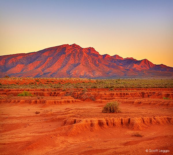 Wilpena Pound SA Last light | Limited Edition Prints | Scott Leggo images | Australian landscape photographer | Limited edition photography