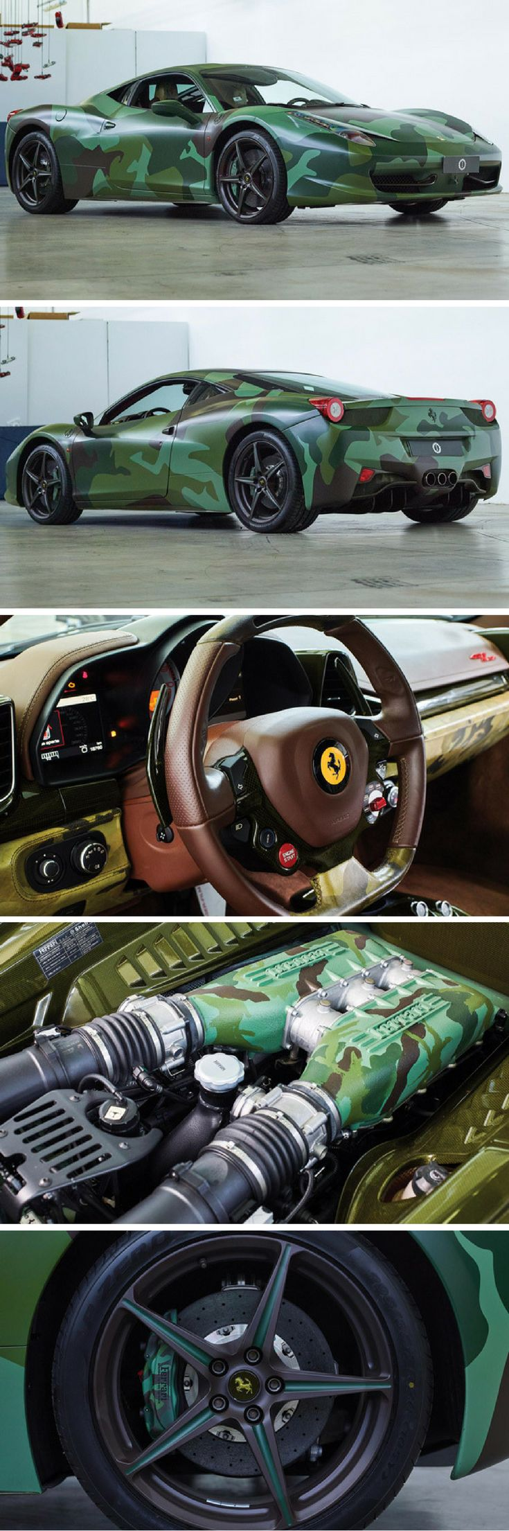 A Ferrari 458 with a camo paint job is up for auction https://www.amazon.co.uk/Baby-Car-Mirror-Shatterproof-Installation/dp/B06XHG6SSY