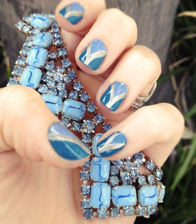 This manicure from love Maegan is so pretty and looks like something I could actually do!