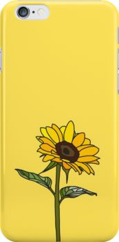 Aesthetic Sunflower  Snap Case for iPhone 6 & iPhone 6s