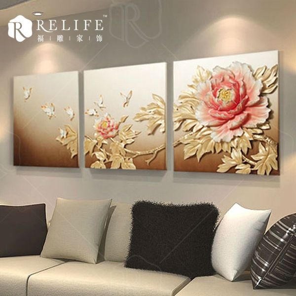 Handmade Interior Wall art Painting 3d home decoration