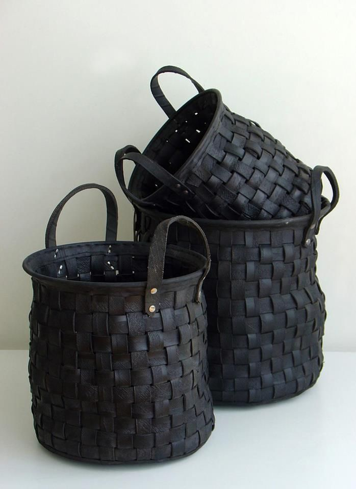 Repurposing tires into baskets ♥ Loved and pinned by www.qualitytires.ca