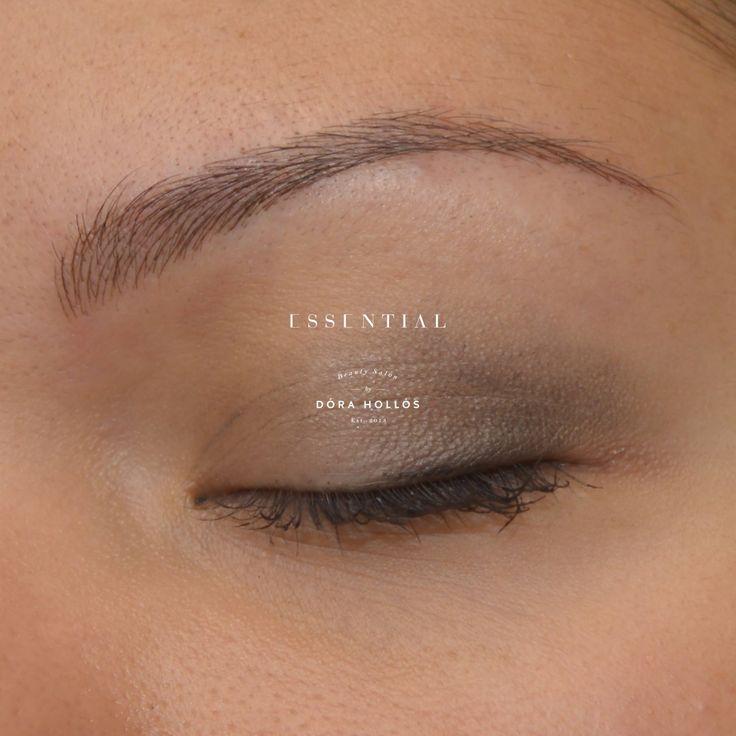 De 25 bedste id er inden for permanent eyebrows p pinterest for Natural eyebrow tattoo