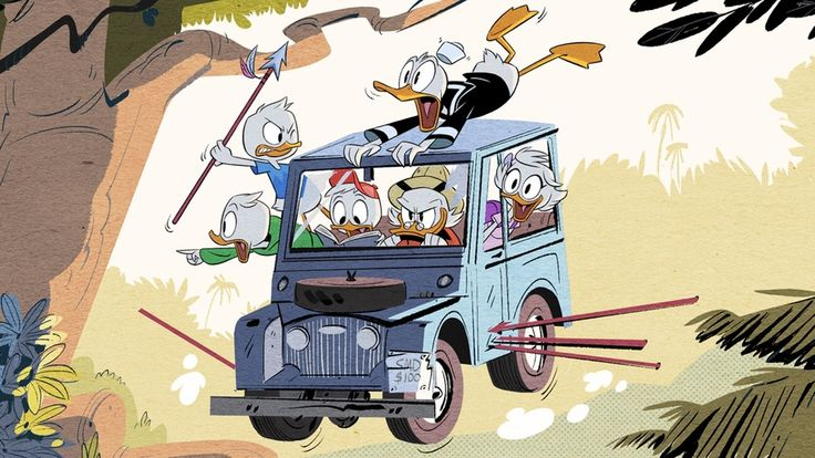 """Спустя девять месяцев с публикации первой картинки (ищите её в заголовке), знаменующей собой перезапуск классического мультсериала """"Утиные истории"""" (DuckTales), мы наконец-то дождались от канала Disney XD промо-постер и тизер-трейлер."""