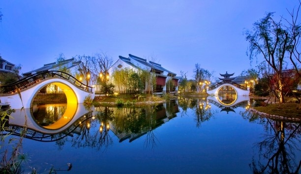 Banyan Tree Hangzhou resort on the edge of the Xixi Wetlands -- this is somewhere in China I'd actually go! Regular price $429 PER NIGHT