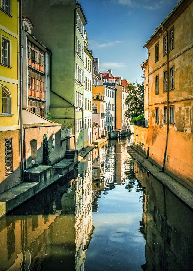 Prague's Little Venice by Alistair Ford on 500px