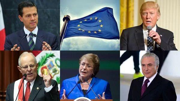 """Crece la condena mundial al golpe de Estado de Nicolás #Maduro en #Venezuela Los gobiernos de Estados Unidos, México, Brasil, Chile, Colombia y Perú condenaron la decisión del Tribunal Supremo de atribuirse las funciones del Parlamento. Las autoridades nacionales catalogaron el dictamen como """"inaceptable"""" y un """"deterioro del orden democrático"""". Y la Unión Europea pidió al chavismo un """"calendario electoral claro"""""""