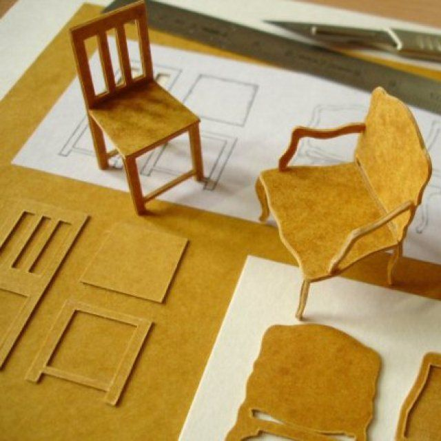 les 25 meilleures id es de la cat gorie meubles de poup e sur pinterest mobilier pour fille. Black Bedroom Furniture Sets. Home Design Ideas