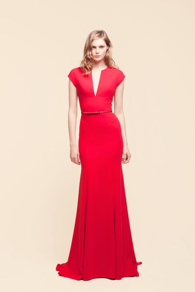 Elie Saab---<3 Love ladies in Red!