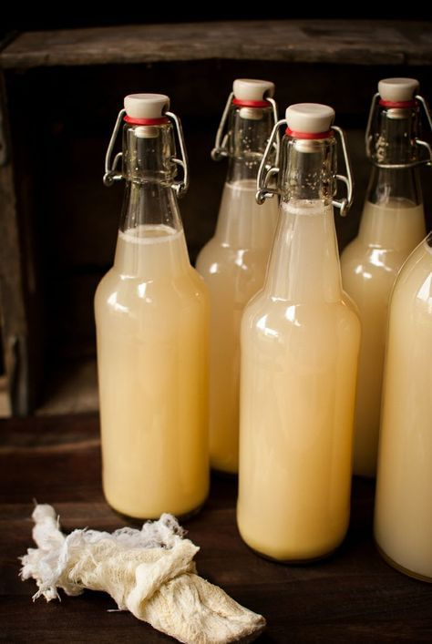Homemade ginger beer  Thyme of Taste I might have to try this.I fell in love with ginger beer in Jamaica!