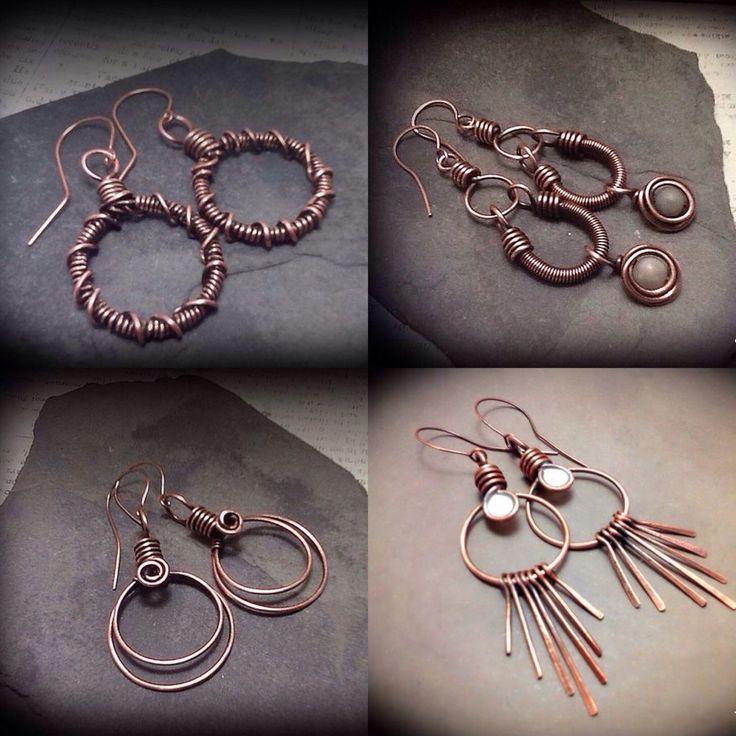 Best 25+ Wire earrings ideas on Pinterest | Handmade jewellery ...