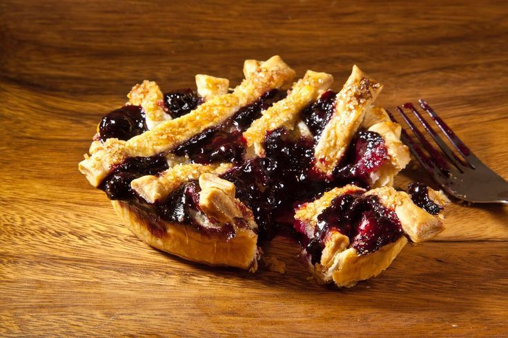 """The best part of a NYC blizzard right before Pie Day is that you can enjoy our Huckleberry & Blueberry pie without having to venture out into the cold. Our large 8"""" pie will come to you! #perfectpie #pieday #blueberry #huckleberry #baking #dessert #yum #eeeeeats"""