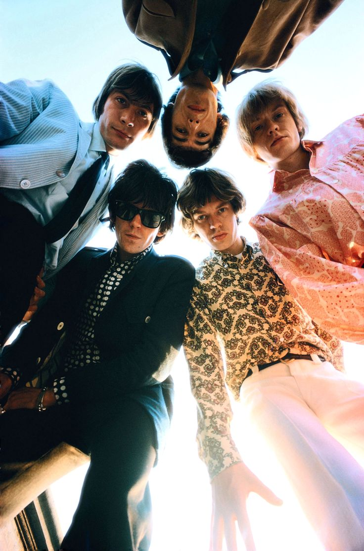 The Rolling Stones by Art Kane, 1966                                                                                                                                                                                 More