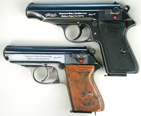 Walther PP and PPK.