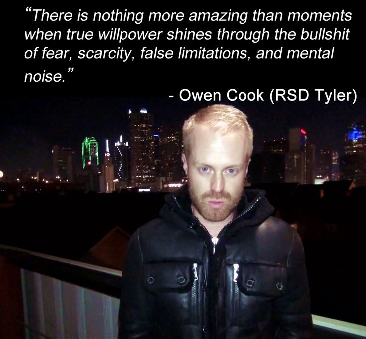 One of the best #quotes from our Co-Founder Owen Cook aka RSD Tyler #motivation #inspiration #lifestyle
