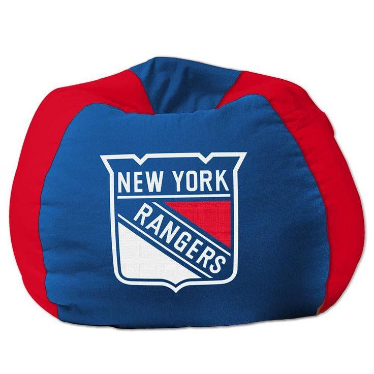 New York Rangers NHL Team Bean Bag 96in Round