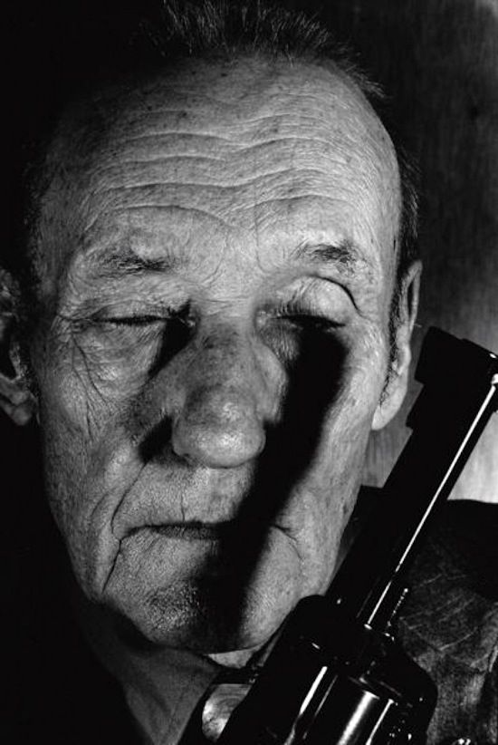 William S. Burroughs (1914-1997) - American novelist, short story writer, essayist, painter, and spoken word performer. Photo by Gottfried Helnwein