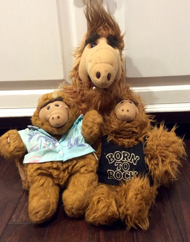 1988 ALF Doll With 2 Puppets, Large Vintage Alf Plush Doll, Alien Productions Alf Doll, Alf The Alien, 1980s Alf Puppet, Alf Hand Puppet by Lalecreations on Etsy
