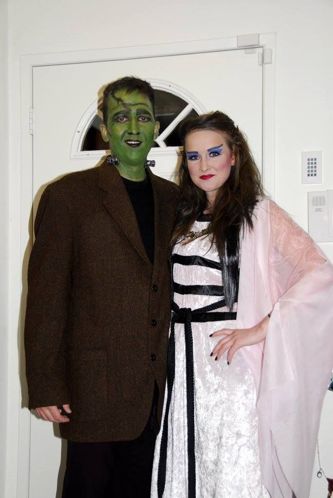 Lily and Herman Munster