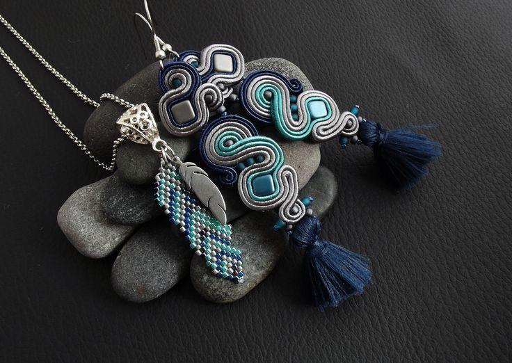 Pejotka handmade jewelry sutasz soutache beading