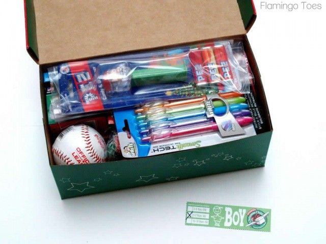 ideas for your 10 to 14-year-old's shoebox! www.SamaritansPurse.ca/OCC