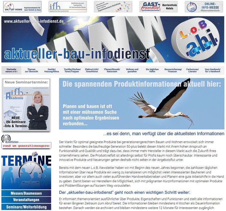 Aktueller-Bau-Infodienst - Webseitengestaltung
