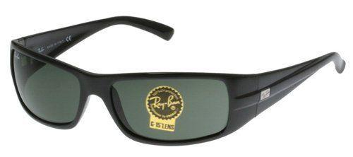 b37a959e77c2 Ray-Ban RB 4057 Sunglasses Black Crystal Green