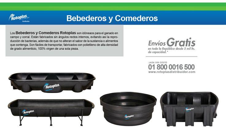 Bebederos y comederos rotoplas tanques rotoplas ganado for Tanque de agua rotoplas